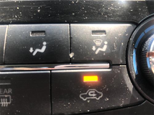 autó légkeverés gomb