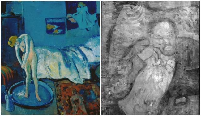 Pablo Picasso Kék szoba