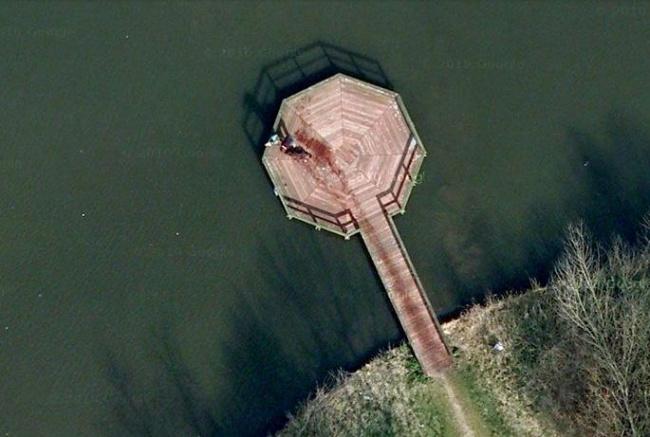Google Maps gyilkosság hollandia tó