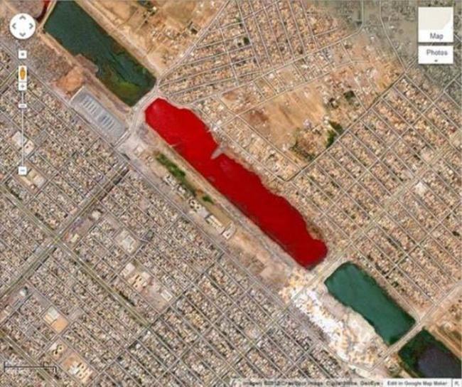 Véres tó irakban