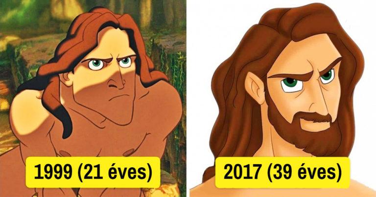 Disney hősök változása Facebook