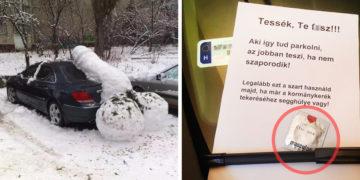 Parkolás failok Facebook