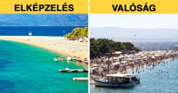 Turistacélpontok a valóságban