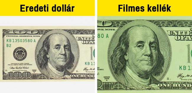 Eredeti dollár vs filmes
