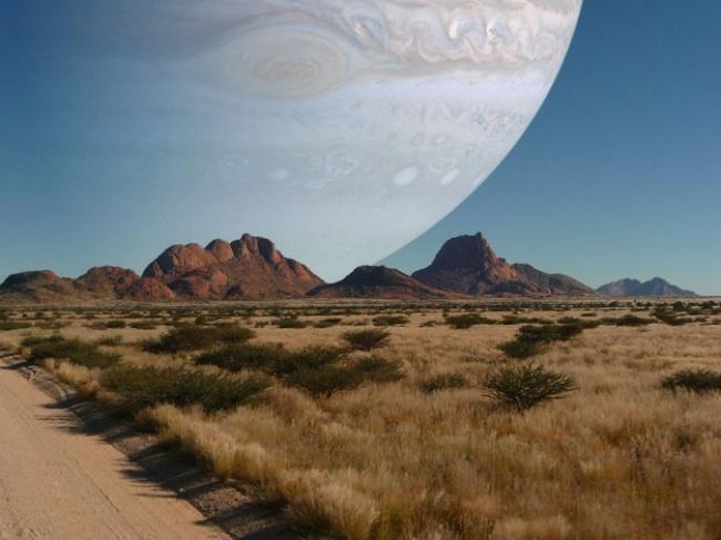Föld és Jupiter