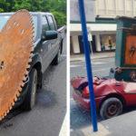 Abszurd közlekedési balesetek
