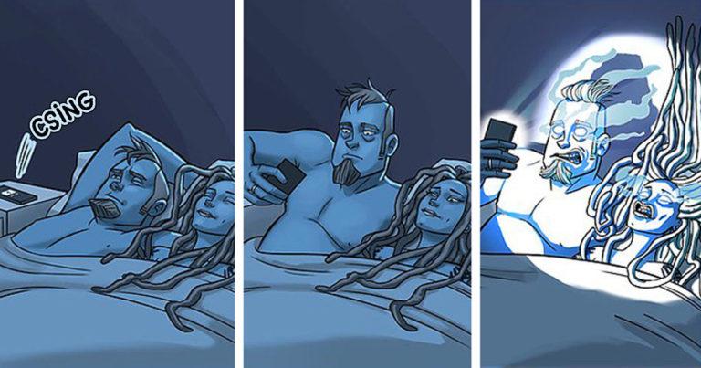 Házastárs képregény Facebook