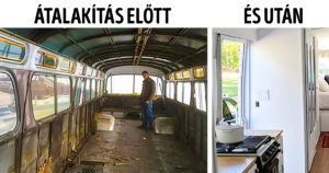 Átalakítás előtt és után