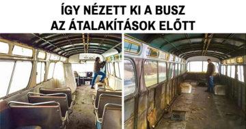 Átalakított busz Facebook