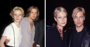 Brad Pitt és barátnői Facebook