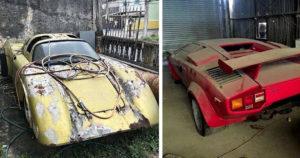 Elhagyatott autólegendák