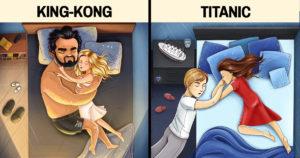 Legtipikusabb alvópózok