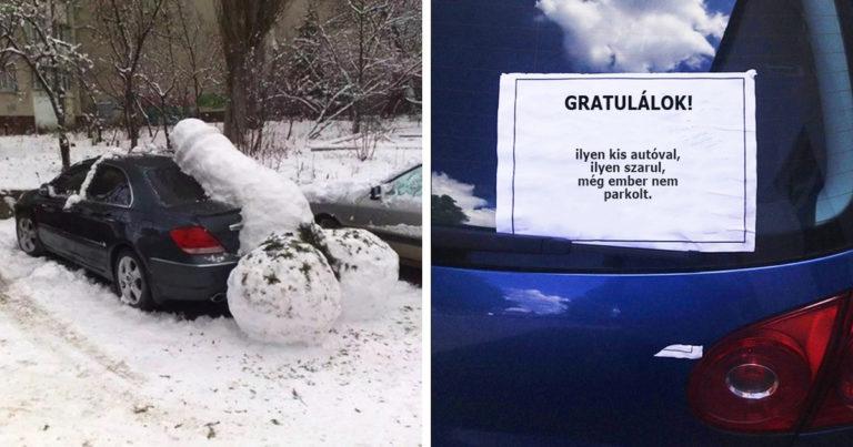 Béna parkolás failok