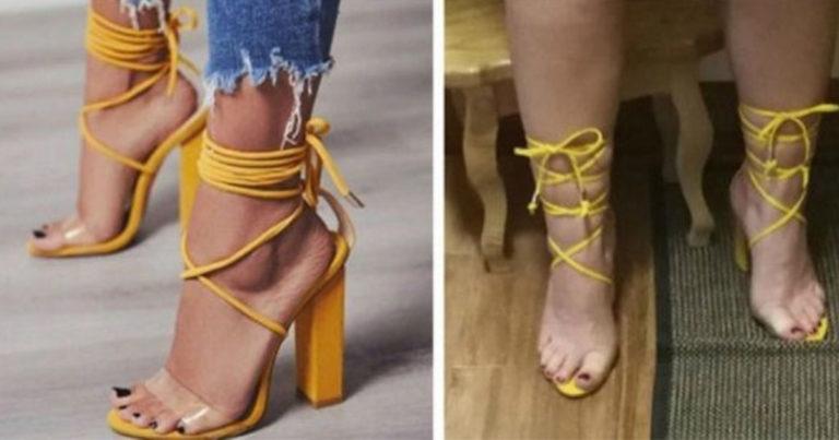 Borzalmas online cipővásárlások