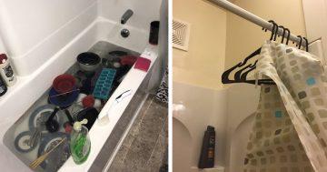 Férfiak fürdőszobájában talált dolgok