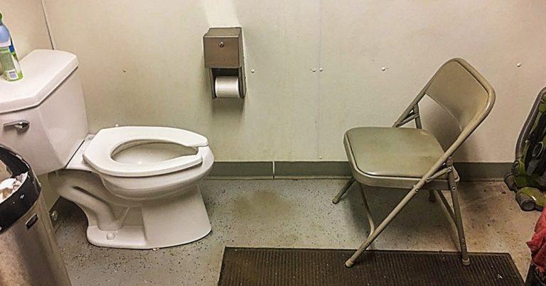 Férfiak fürdőszobájában talált furcsaságok