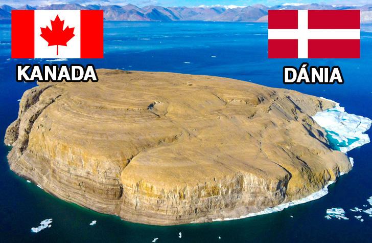 Kanada és Dánia Hans-sziget