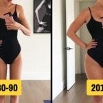 Tökéletes női test változása