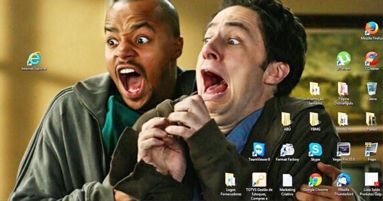 Vicces Windows háttérképek