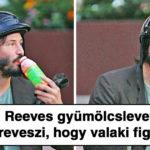 Keanu Reevesről készült lesifotók