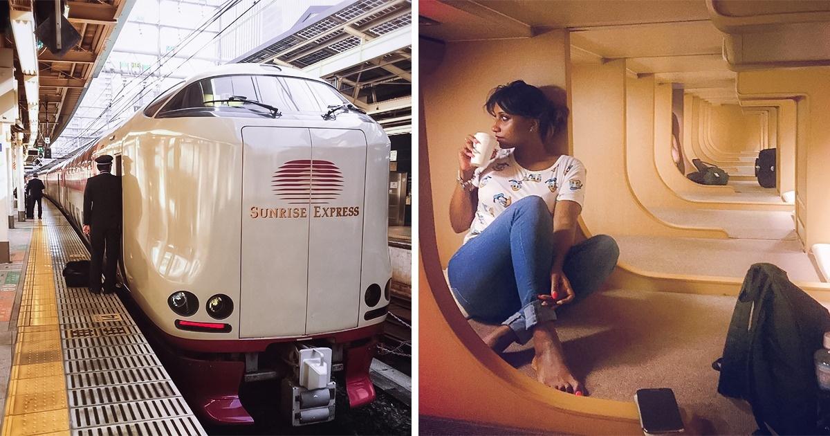 Japán sunrise express