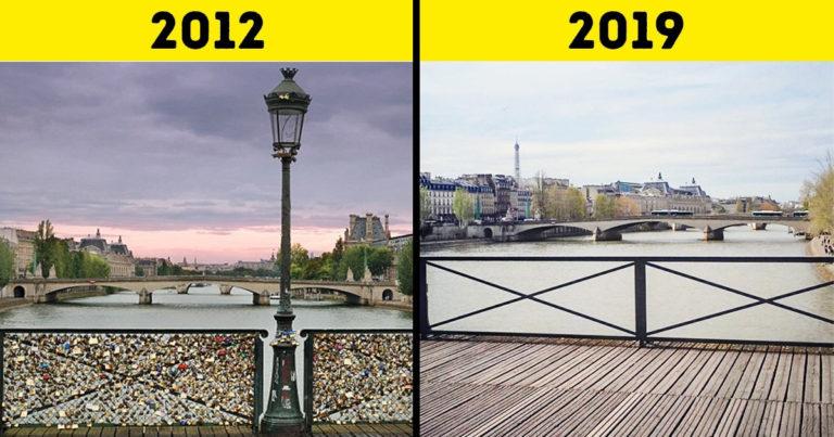 Megváltozott turistalátványosságok