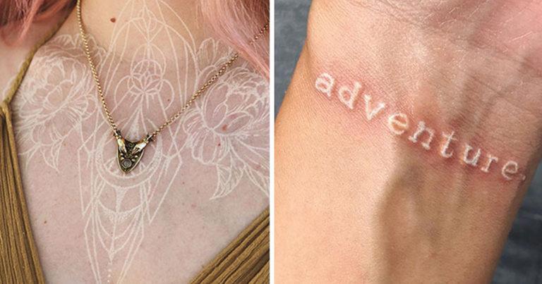 Fehér-tetoválások