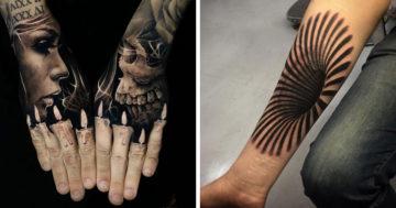 Háromdimenziós tetoválások