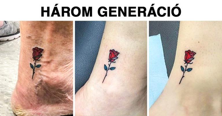 Jelentőségteljes tetoválások