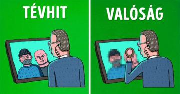 Mozifilmes mítoszok vs valóság
