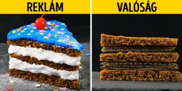 Reklám vs valóság ételek