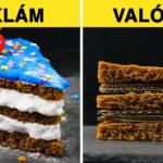 Reklámokban látott ételek