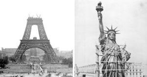Világhírű látványosságok építése