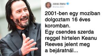 Keanu Reeves történetek
