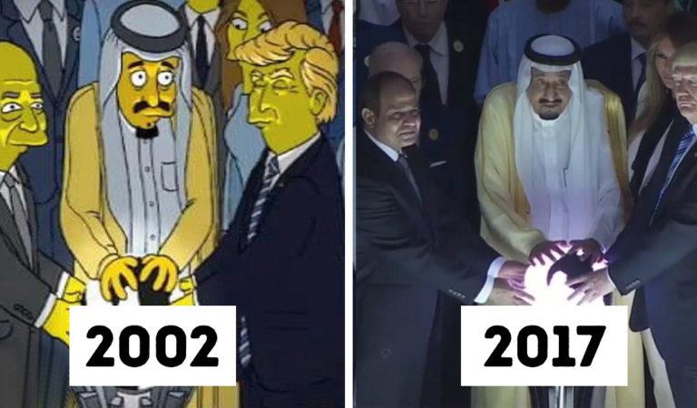 21 alkalom, amikor a Simpson család írói Nostradamusnál is pontosabban jósolták meg a jövőt