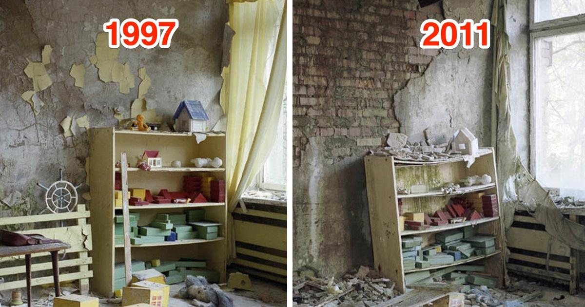Pripyat akkor és most