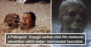 Horror filmes kulisszatitkok