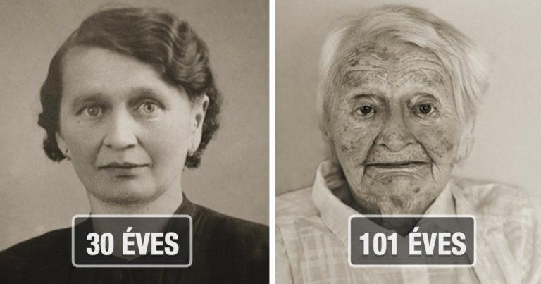Idős emberek akkor és most