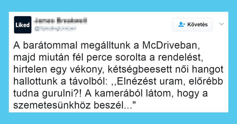 Kínos szituációk Tweet