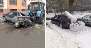 Megbosszult parkolások