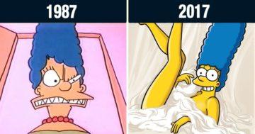 Megváltozott rajzfilmfigurák