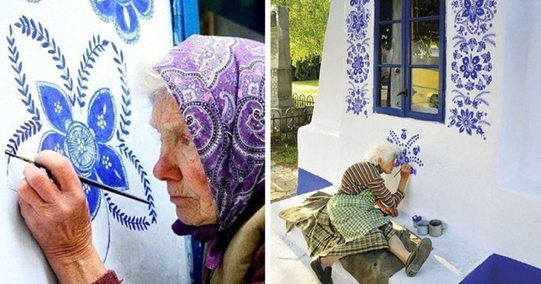 Nagymama és a szülőfaluja házai