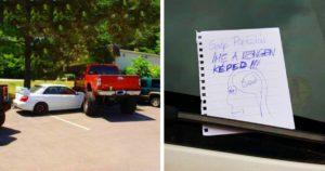 Elbénázott parkolások megosztás