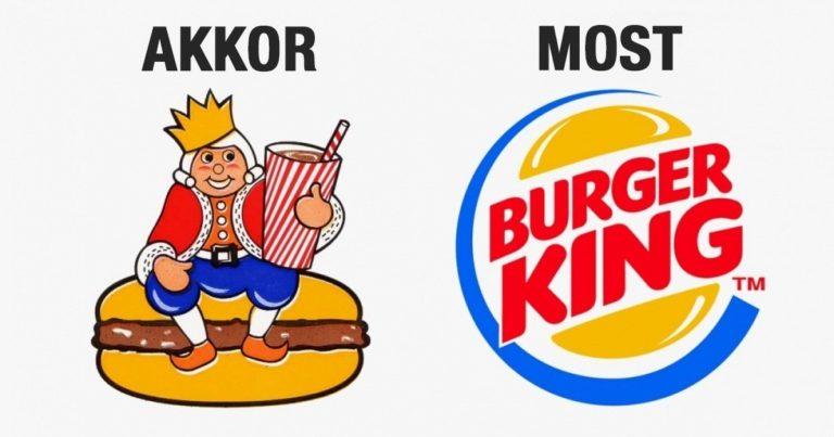 Híres márkák logói Share