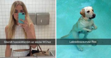 Legjobb Snapchat üzenetek Facebook