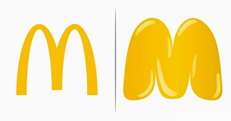 VIlágmárkák egyértelmű logói