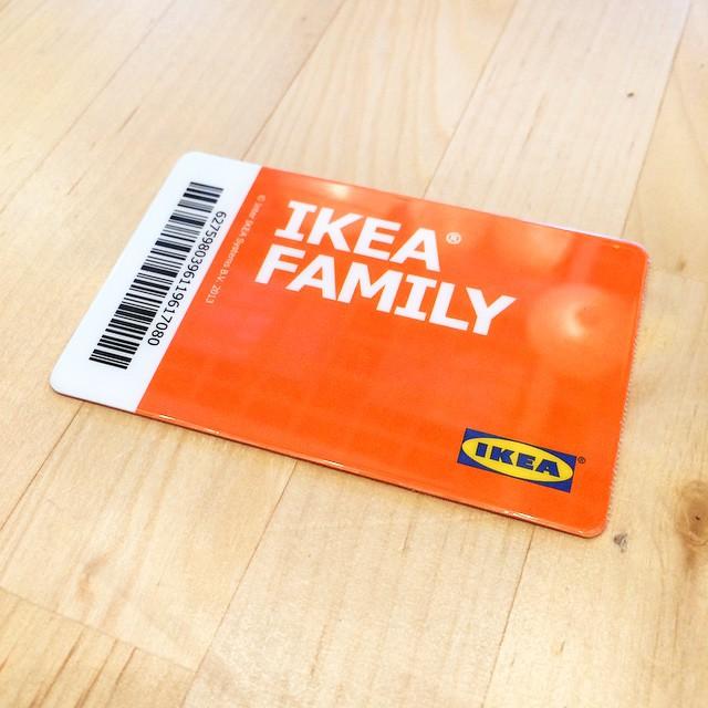 Ikea family kártya