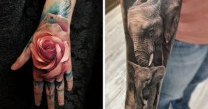 Hihetetlenül élethű tetoválások