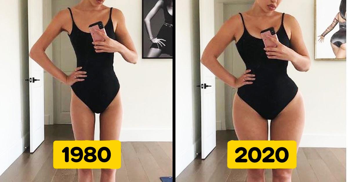 Női test változása