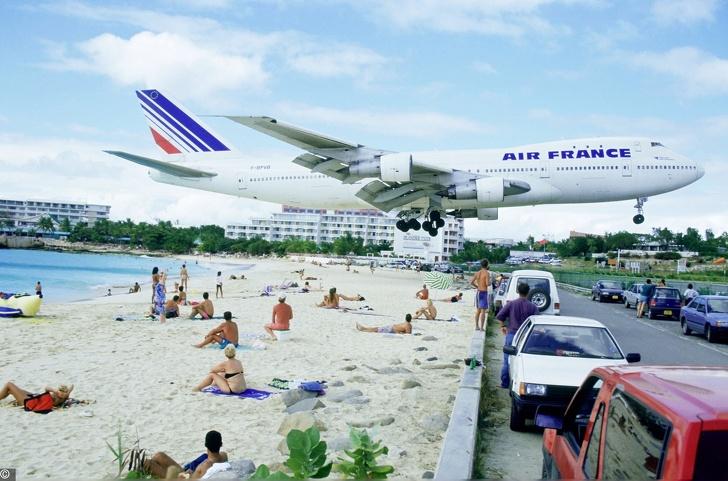 Saint Martin repülőtér